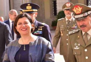 Il-Ministro-Trenta-con-il-Capo-di-Stato-Maggiore-Generale-Farina