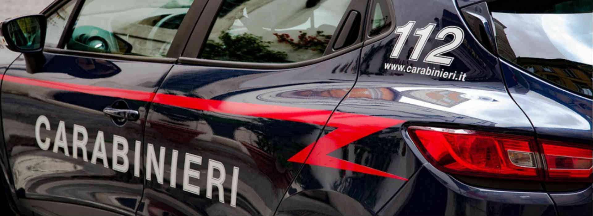 Volante carabinieri omicidio