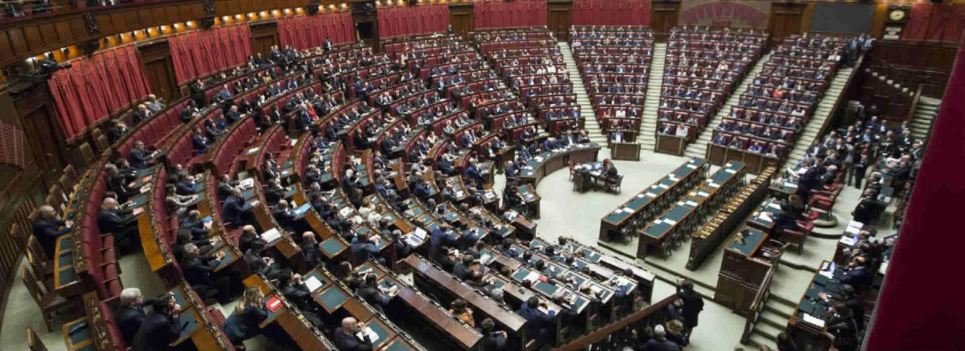 Immagine del Parlamento italiano che chiede una commissione d'inchiesta