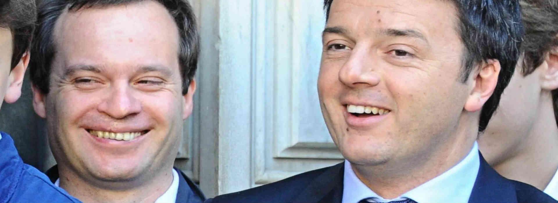 Matteo Renzi e Marco Carrai. Fondazione Open