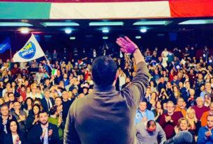 Salvini a Chieti, candidatura Fabrizio Di Stefano in Lega Abruzzo