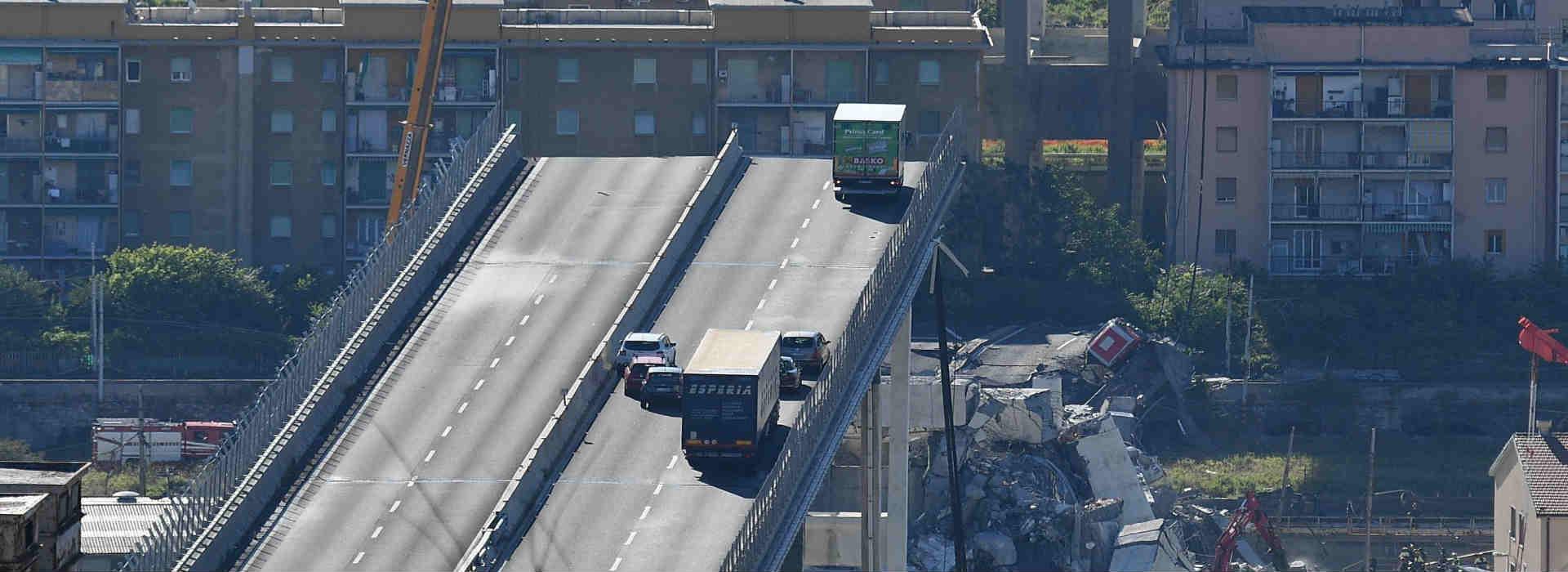 PonteMorandi, Genova. Autostrade parte con gli interventi (500mln) per salvare le concessioni