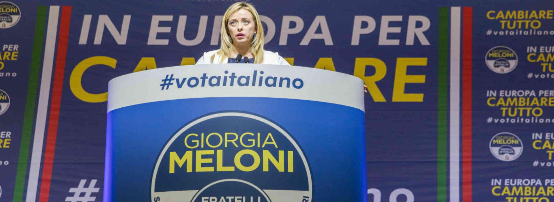 Giorgia Meloni, Fratelli d'Italia