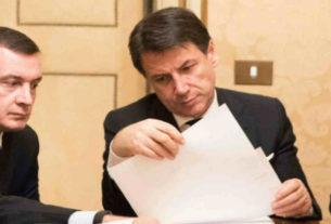 Giuseppe Conte Manovra e tasse