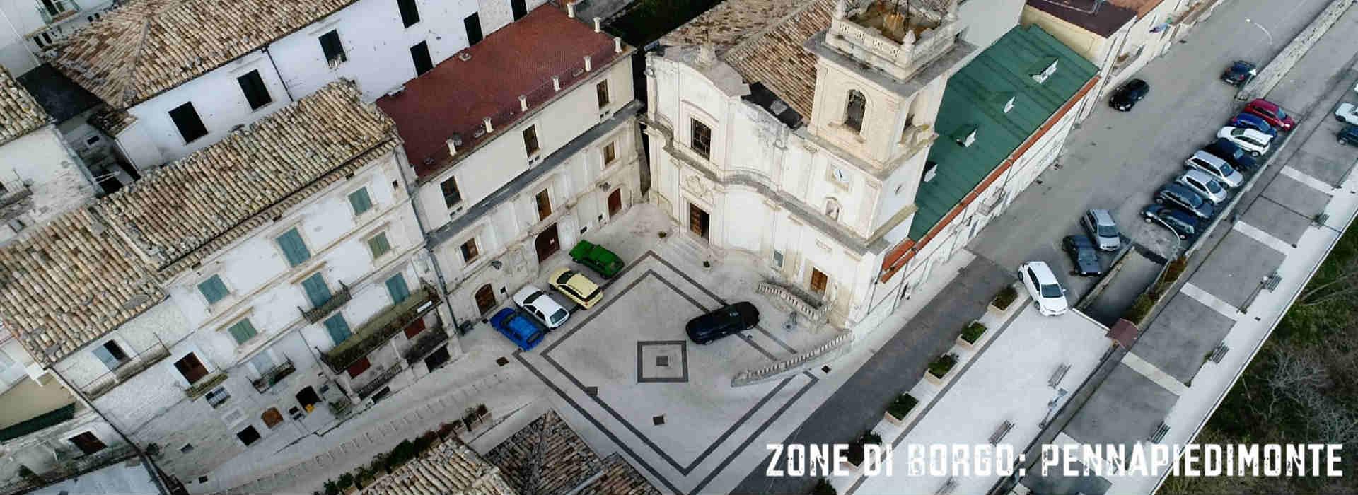 Pennapiedimonte, Zone di Borgo
