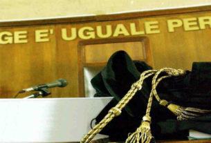 Toga Tribunale. Arresto giudice
