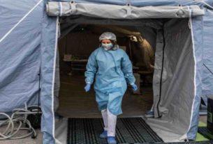 Coronavirus, tenda pre-triage