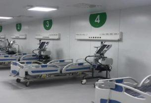 L'ospedale Fiera Milano costruito in 10 giorni grazie ai finanziamenti privati