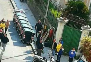 Il funerale al fratello dell'ex boss Sparacio