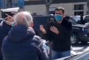 Decaro, sindaco multa anziano a Bari