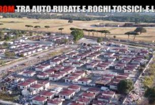 Il campo rom di Castel Romano: incendi e minacce. E la Raggi non sapeva nulla