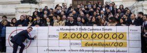 Il M5S spende quasi 800mila euro per la comunicazione. Un aumento di 250mila rispetto all'anno scorso