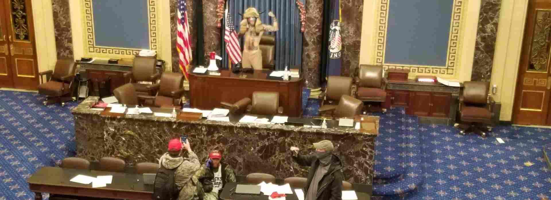 La pseudo-rivolta di Capitol Hill