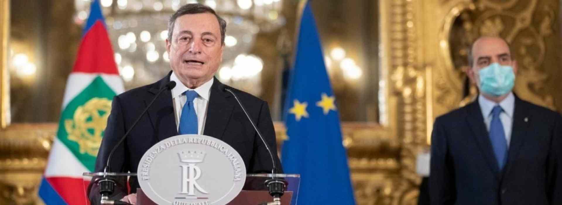 Governo Draghi: ecco i nomi dei ministri