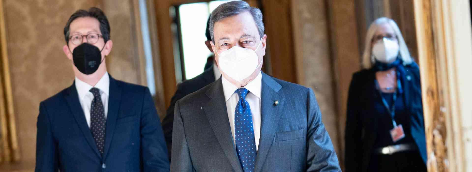 Dpcm al tempo di Draghi: coprifuoco anche nelle zone bianche