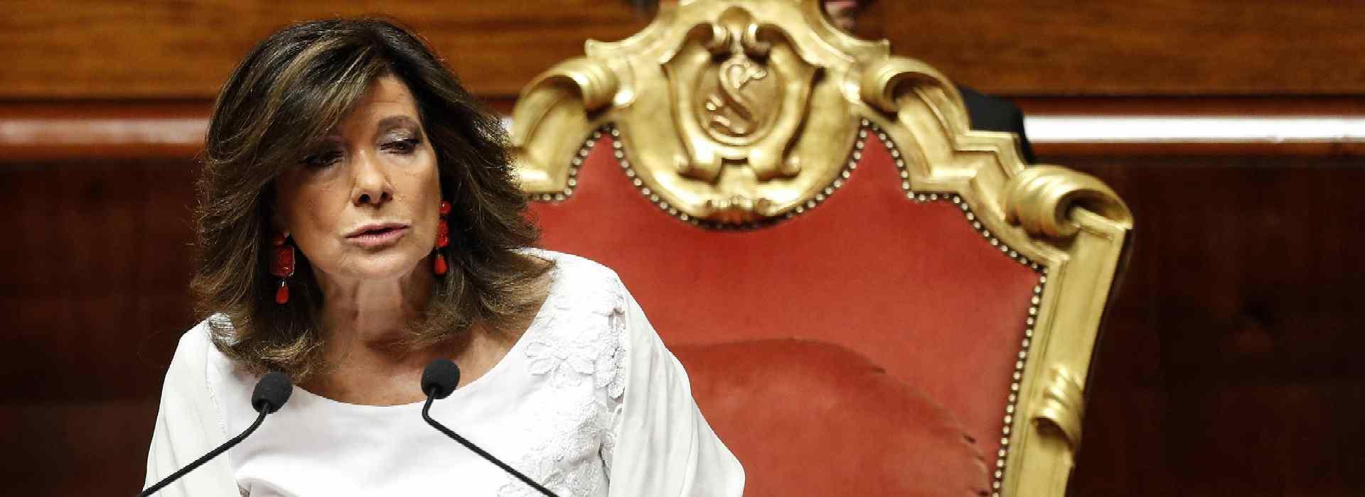 Caso Del Turco: l'ultima farabuttata della presidenza del Senato
