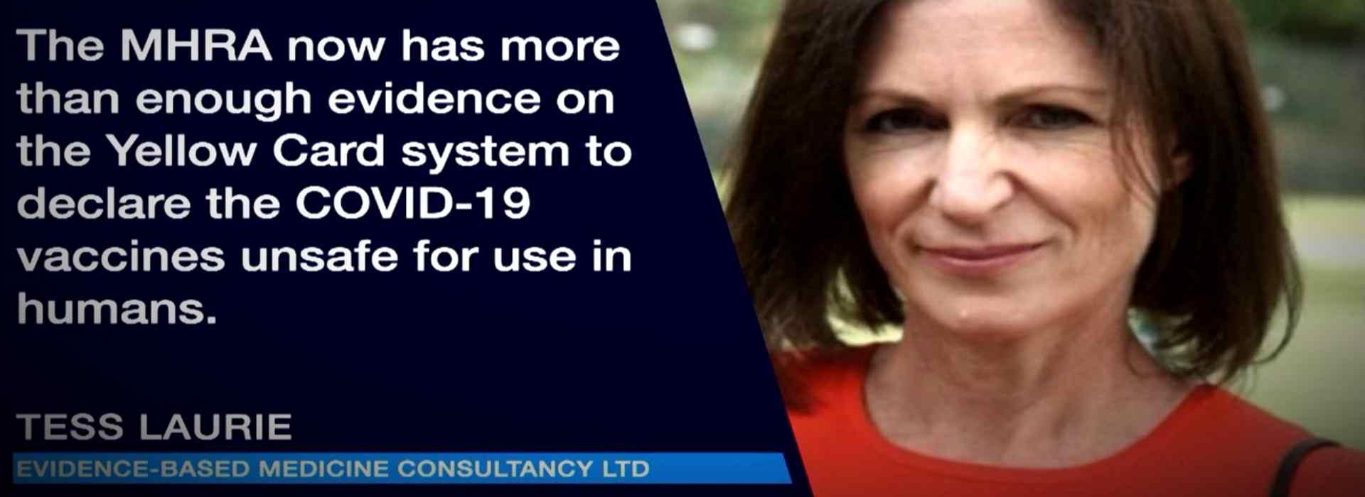 """Covid-19: """"Le vaccinazioni vanno fermate"""". Il rapporto inglese della Evidence-Based Medicine Consultancy Ltd"""