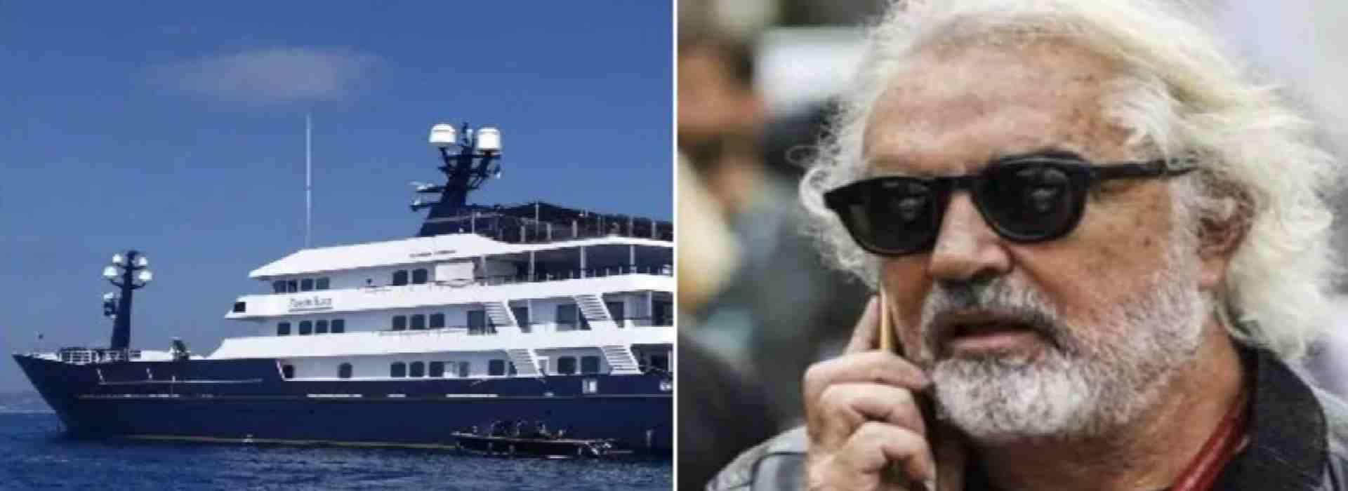 Lo yacht di Flavio Briatore che i giudici hanno sequestrato, lo Stato ha venduto. E che ora (forse) deve ripagare