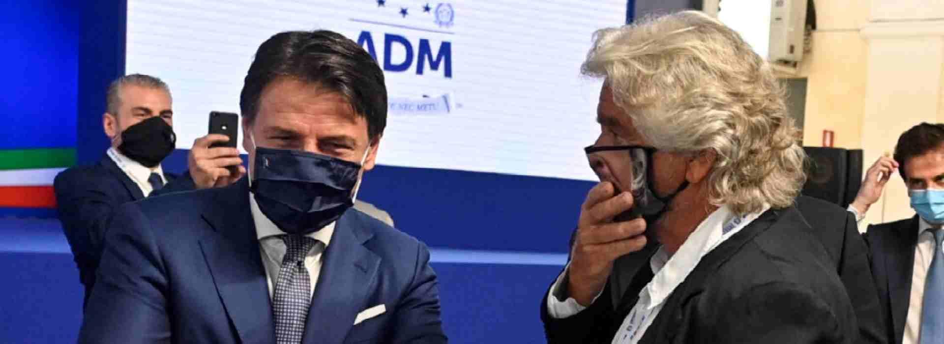 Giuseppe Conte, Beppe Grillo e gli staff dei nipoti e dei cantanti