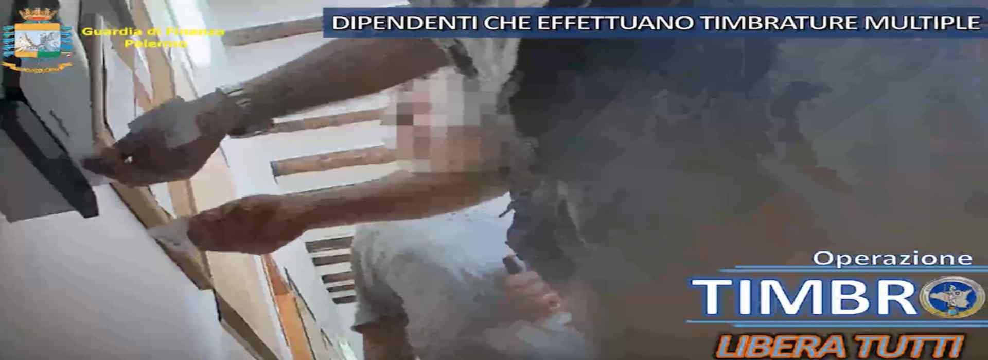 Palermo, timbravano il cartellino e andavano a fare la spesa o jogging: 28 misure cautelari per un gruppo di dipendenti comunali. Tra loro anche un indagato per associazione mafiosa