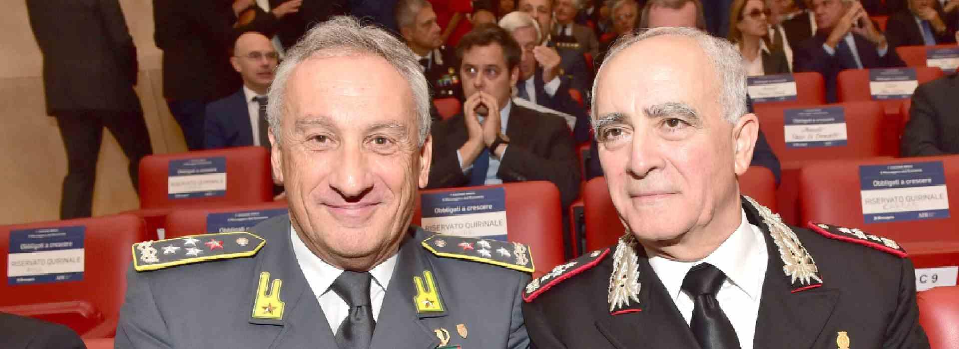Loggia Ungheria, nella loggia Ungheria i generali Toschi e Del Sette