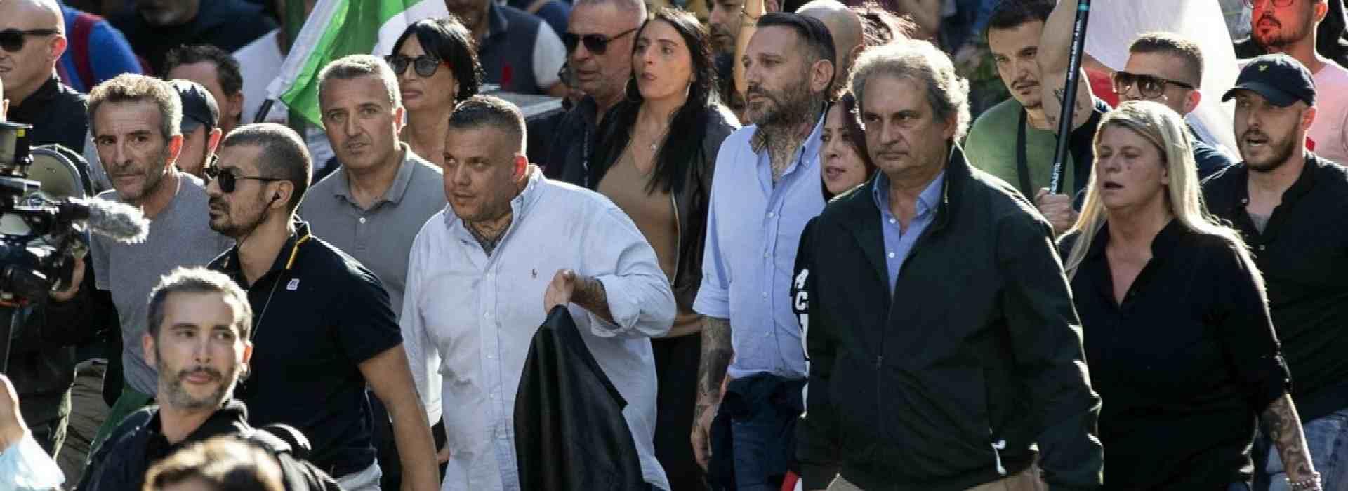 """I difensori di Fiore e Castellino: """"estranei ai disordini"""". L'intercettazione del leader di FN: """"Boccacci al soldo dei Servizi"""""""
